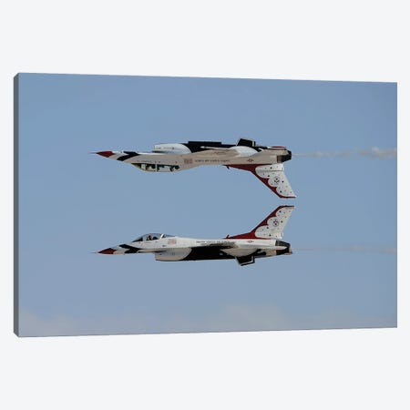 The US Air Force Thunderbirds In Calypso Pass Formation Canvas Print #TRK422} by Remo Guidi Canvas Art Print