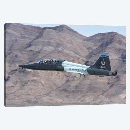 A US Air Force T-38C Taking Off From Nellis Air Force Base, Nevada Canvas Print #TRK424} by Riccardo Niccoli Canvas Artwork