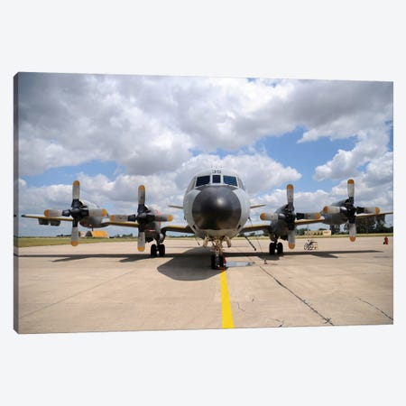 P-3M Orion Of The Spanish Air Force Canvas Print #TRK428} by Riccardo Niccoli Canvas Art Print