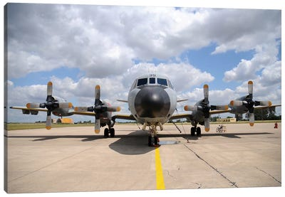 P-3M Orion Of The Spanish Air Force Canvas Art Print