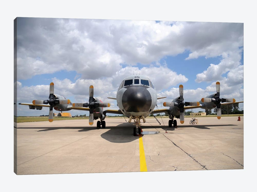 P-3M Orion Of The Spanish Air Force by Riccardo Niccoli 1-piece Canvas Wall Art