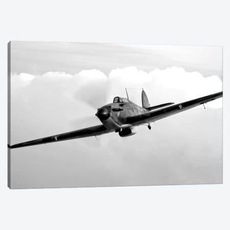 A Hawker Hurricane Aircraft In Flight I 3-Piece Canvas #TRK475} by Scott Germain Canvas Print