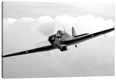 A Hawker Hurricane Aircraft In Flight I Canvas Art Print