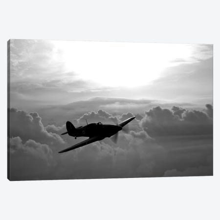 A Hawker Hurricane Aircraft In Flight II Canvas Print #TRK476} by Scott Germain Canvas Print