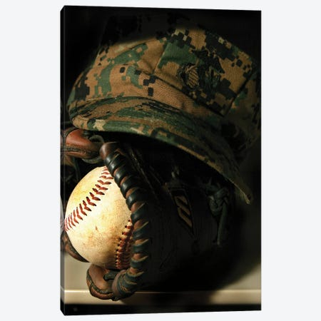 A Marine's Athletic Gear Canvas Print #TRK568} by Stocktrek Images Canvas Artwork