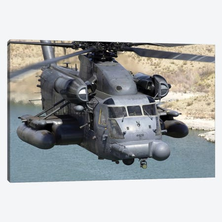 A MH-53J Pave Low IIIE Heavy-Lift Helicopter Canvas Print #TRK571} by Stocktrek Images Art Print