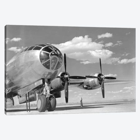 A US Army Air Forces B-29 Superfortress Bomber Aircraft Canvas Print #TRK627} by Stocktrek Images Canvas Art