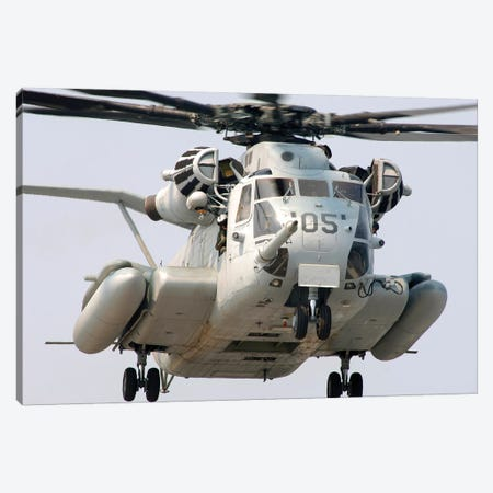 A US Marine Corps CH-53E Super Stallion Canvas Print #TRK635} by Stocktrek Images Canvas Print