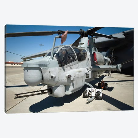 AH-1Z Super Cobra Attack Helicopter Canvas Print #TRK654} by Stocktrek Images Canvas Print