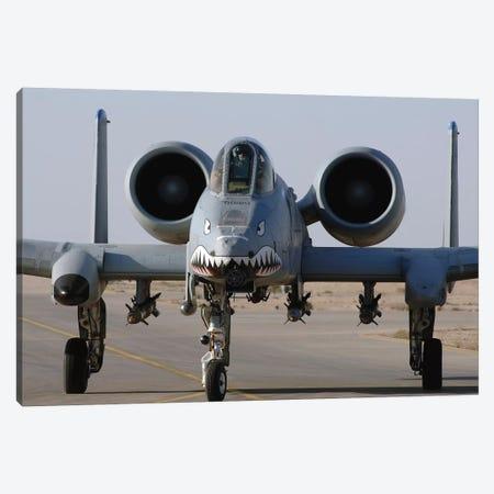 An A-10 Thunderbolt II Canvas Print #TRK673} by Stocktrek Images Canvas Wall Art
