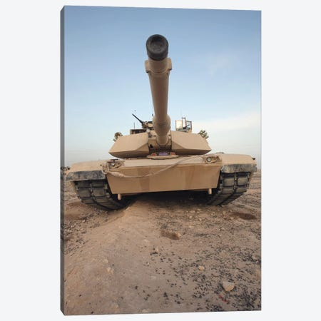 An M-1A1 Main Battle Tank Canvas Print #TRK748} by Stocktrek Images Canvas Art