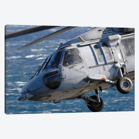 An MH-60S Seahawk Helicopter Canvas Print #TRK752} by Stocktrek Images Canvas Print