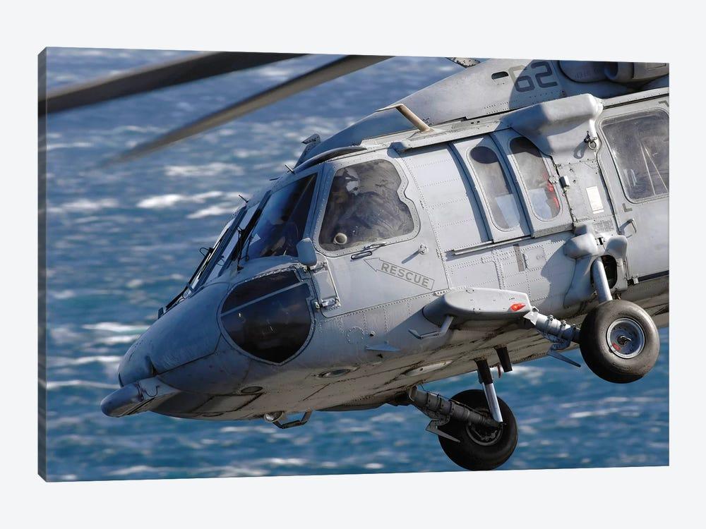 An MH-60S Seahawk Helicopter 1-piece Canvas Print