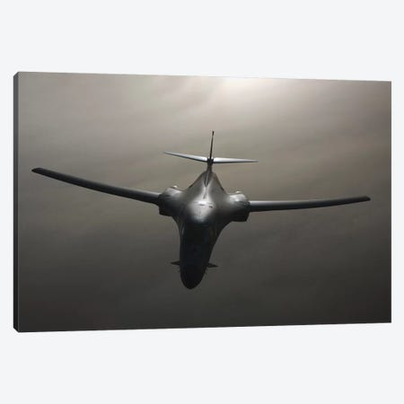 B-1 Bomber In Flight 3-Piece Canvas #TRK769} by Stocktrek Images Canvas Wall Art