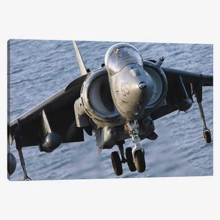 Close-Up View Of An AV-8B Harrier II Canvas Print #TRK783} by Stocktrek Images Canvas Art