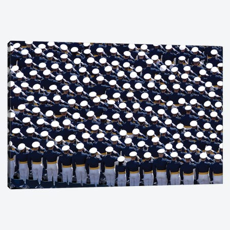 Members Of The US Air Force Academy Canvas Print #TRK863} by Stocktrek Images Canvas Print