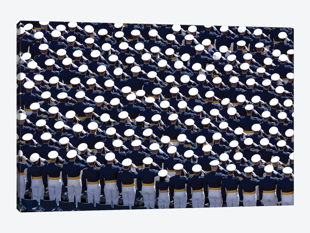 Members Of The US Air Force Academy by Stocktrek Images 1-piece Canvas Art Print