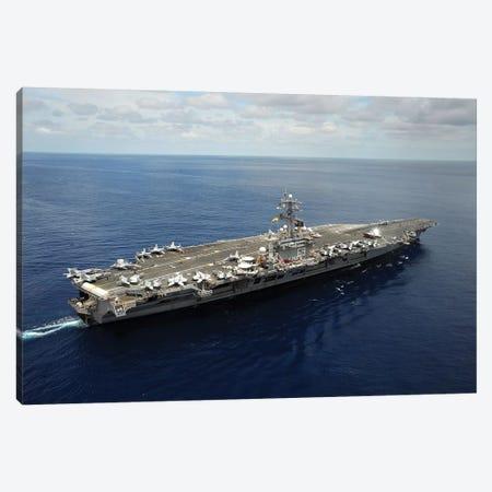 Nimitz-Class Aircraft Carrier USS Dwight D. Eisenhower Canvas Print #TRK868} by Stocktrek Images Canvas Print