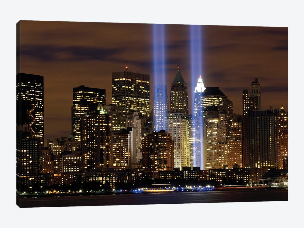 The Tribute In Light Memorial, NYC I by Stocktrek Images 1-piece Canvas Print