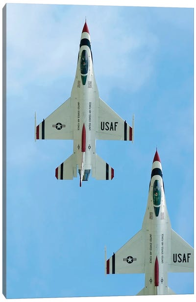 The United States Air Force Demonstration Team Thunderbirds I Canvas Art Print
