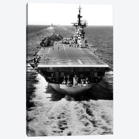 The US Aircraft Carrier USS Boxer Operating Off North Korea Canvas Print #TRK981} by Stocktrek Images Canvas Art