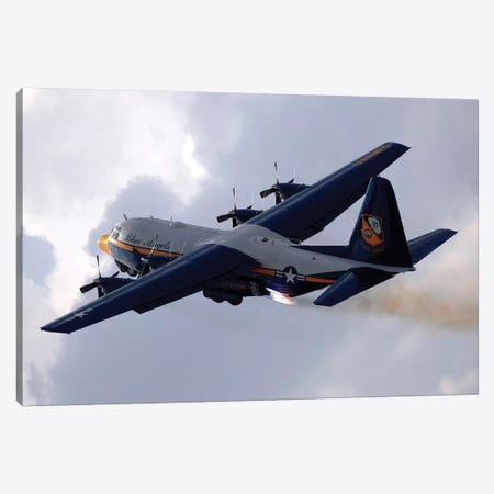 The US Marine Corps C-130 Hercules Canvas Print #TRK982} by Stocktrek Images Canvas Art