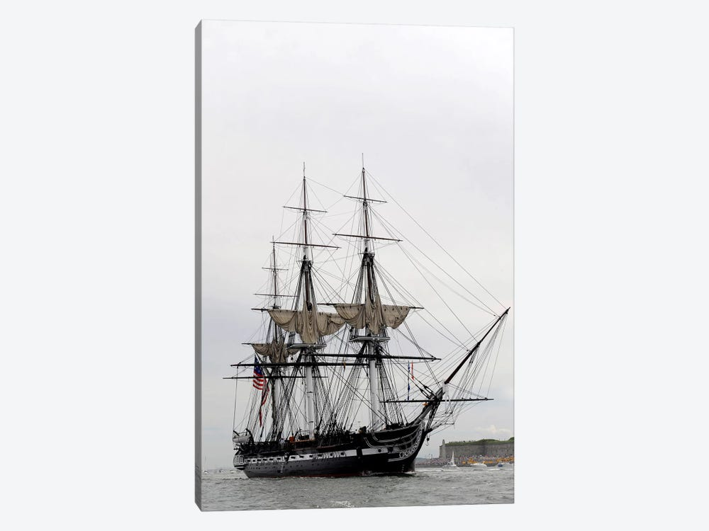 The World's Oldest Commissioned Warship, USS Constitution by Stocktrek Images 1-piece Art Print