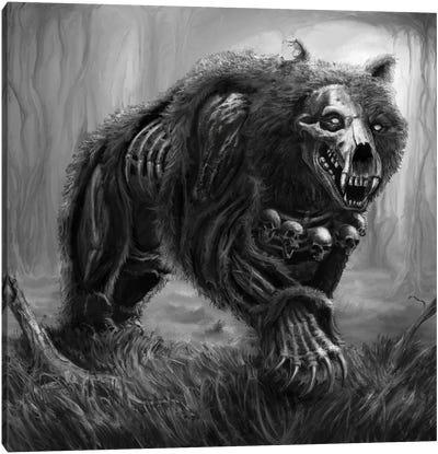 Bear Of Tuoni Canvas Art Print