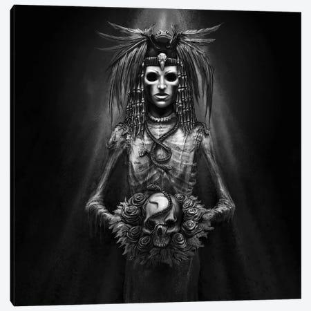 Death Bride Wedding Canvas Print #TRP7} by Tero Porthan Canvas Art Print