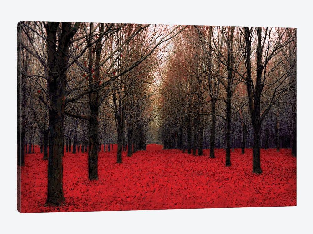 Fairy Tale Autumn by Tracey Telik 1-piece Canvas Art Print
