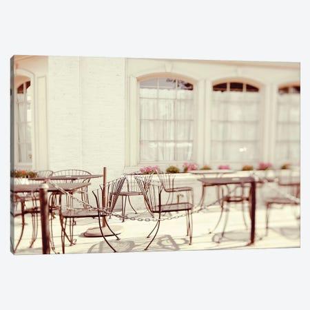 Paris Cafe Canvas Print #TRT14} by Tracey Telik Canvas Print