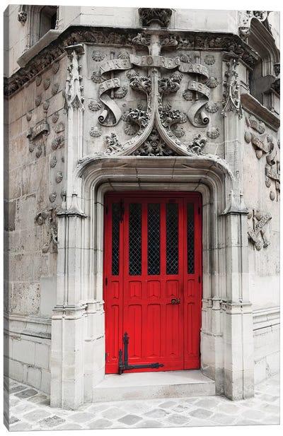 Red Door Canvas Art Print