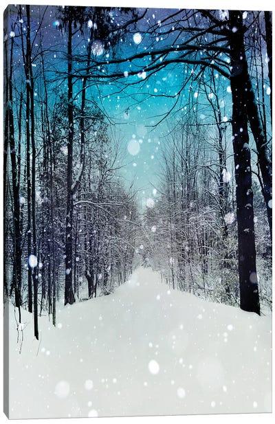 Snowhere Canvas Art Print