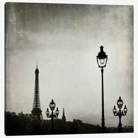 Paris Skyline Canvas Print #TRT1} by Tracey Telik Canvas Artwork