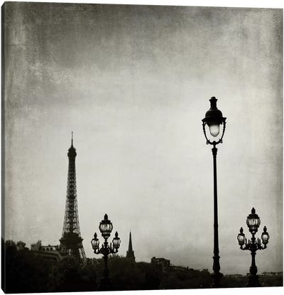 Paris Skyline Canvas Art Print