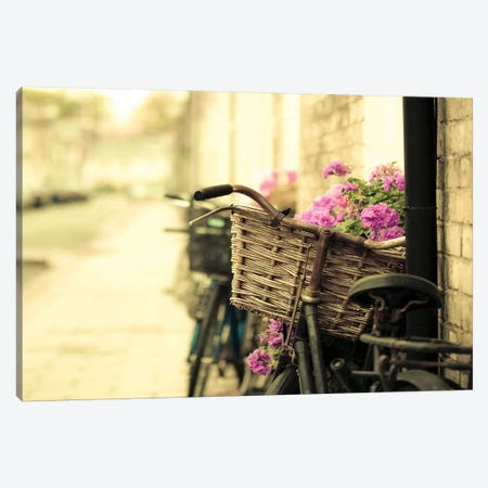 Sunday Cambridge Canvas Print #TRT21} by Tracey Telik Art Print