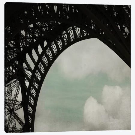 Eiffel Paris I Canvas Print #TRT2} by Tracey Telik Canvas Artwork