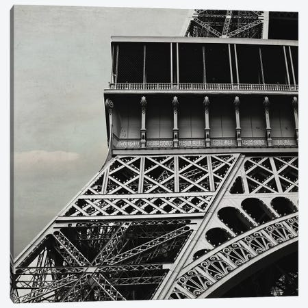Eiffel Paris III Canvas Print #TRT4} by Tracey Telik Canvas Art Print