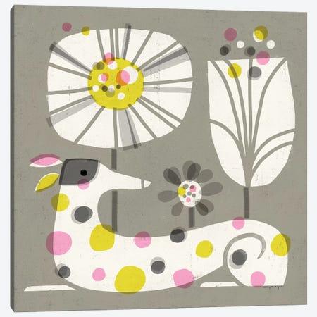 Dog Dots Canvas Print #TRU30} by Terry Runyan Canvas Art Print