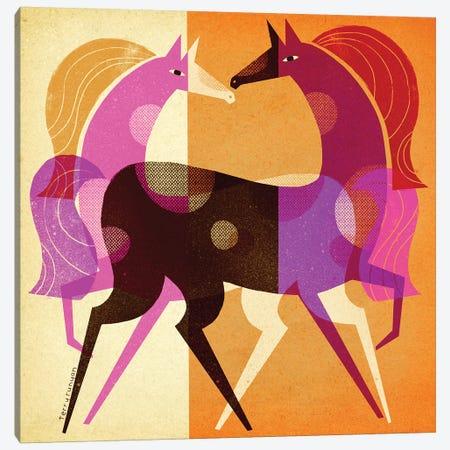 Equestrian Dream Canvas Print #TRU32} by Terry Runyan Canvas Art Print