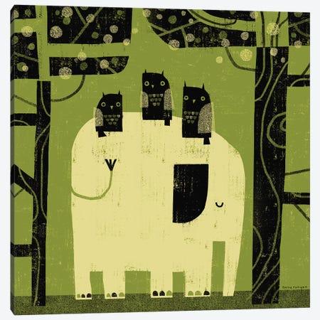 Green Sky Canvas Print #TRU41} by Terry Runyan Canvas Art