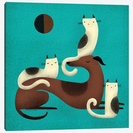 Greyhound Perch Canvas Print #TRU43} by Terry Runyan Canvas Artwork