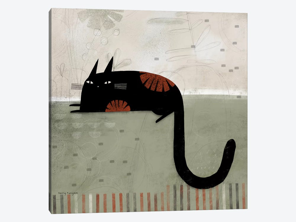 Hook Tail by Terry Runyan 1-piece Art Print