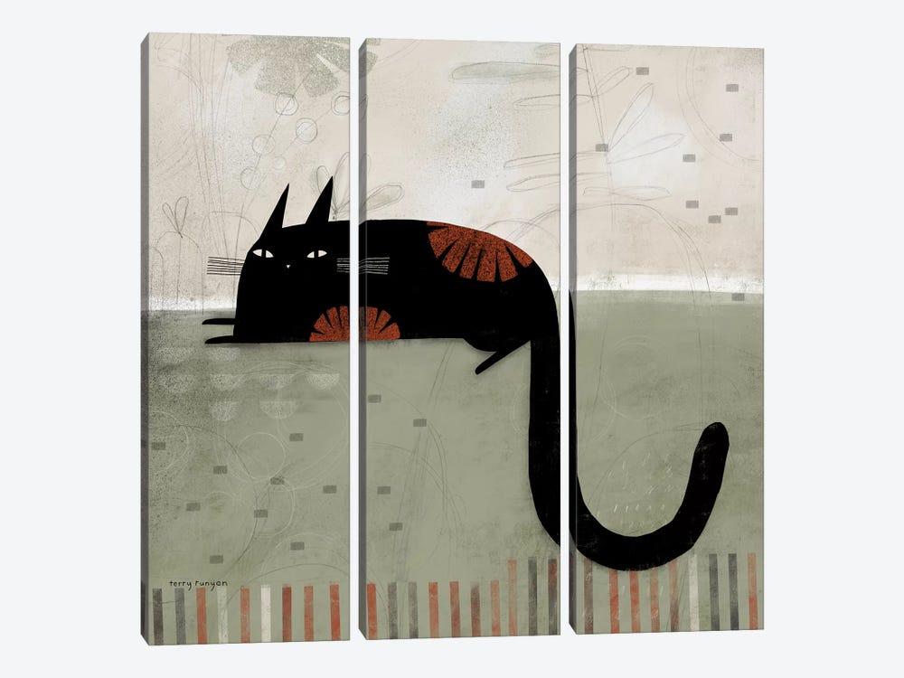 Hook Tail by Terry Runyan 3-piece Canvas Art Print
