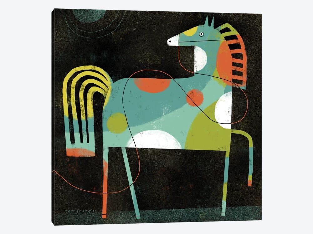 Horse by Terry Runyan 1-piece Canvas Wall Art