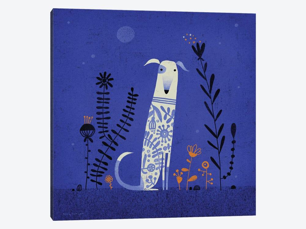Night Hound by Terry Runyan 1-piece Canvas Artwork