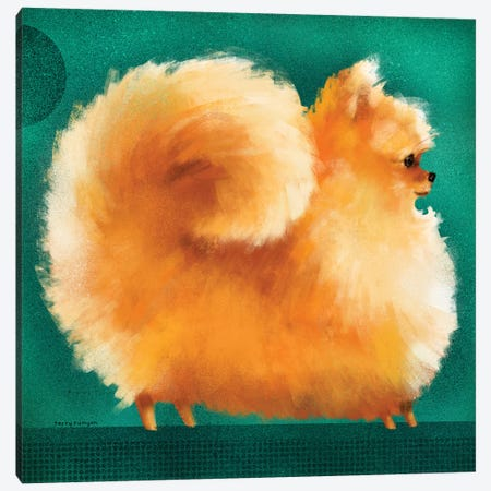 Pom Canvas Print #TRU58} by Terry Runyan Canvas Art Print