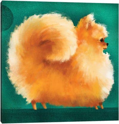 Pom Canvas Art Print