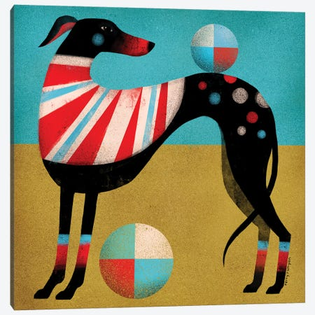Race Dog Canvas Print #TRU60} by Terry Runyan Canvas Artwork