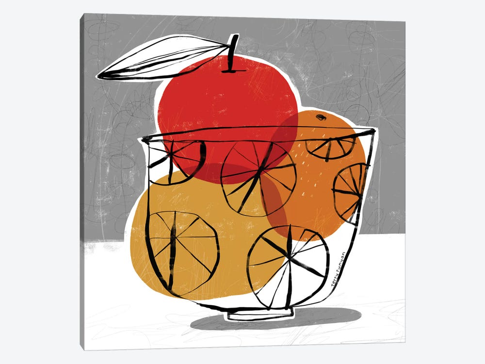 Simple Fruit by Terry Runyan 1-piece Canvas Artwork